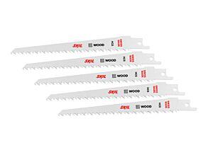 SKIL Комплект от 5 HCS ножчета за рязане на дърво