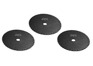 SKIL Комплект дискове от закалена стомана (3 бр.)